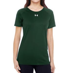 Womens Under Armour Team HeatGear Tech Locker Tee Short Sleeve 1268481 Loose Fit