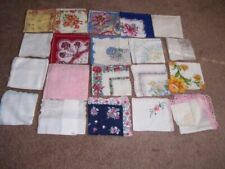 Lot of Twenty Vintage Handkerchiefs