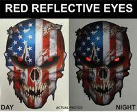 1//2//5X Eyes Peeper Scary Car Bumper Window Decals Sticker Accessories O3F0