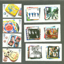 The Beatles -set of 10 complete mnh-Music