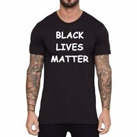 Black Lives Matter Men T-Shirts Graphic Tee Shirt Short Sleeve Cotton Tops Tees