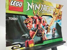 Lego Instruction Booklet 70500 Ninjago Kai's Fire Mech
