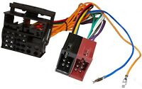 Adaptateur faisceau câble ISO autoradio pour Peugeot 307 308 407 607 807 1007
