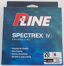 500yd. Spool of P-Line 20lb. Spectrex Braid Fishing Line, NEW
