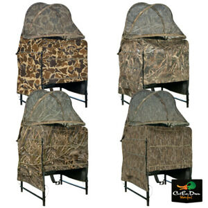 DRAKE WATERFOWL SYSTEMS CAMO GHILLIE SHALLOW WATER CHAIR BLIND