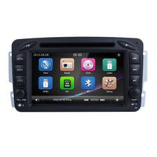 2 DIN Car DVD GPS Player Mercedes Benz C-Class W203 CLK W209 M/ML W163
