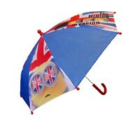 Minions umbrella for kids, boys and girls red blue rain cover children NEW