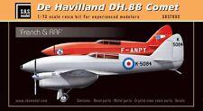 S.B.S Model 1/72 De Havilland DH.88 Comet French & RAF model kit - 7005