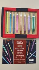 Knit Pro Zing Interchangeable Needle Set N047404 8 Pairs + 4 Cables