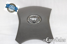 2008-2013 TOYOTA HIGHLANDER DRIVER SIDE LEFT WHEEL AIRBAG GREY GRAY
