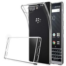 Ultra-thin Transparent Crystal Clear Case For Blackberry Key 2 Soft TPU Cover