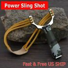 Slingshot CAMOUFLAGE High Velocity Powerful Catapult Hunt Sling Shot Outdoor NEW