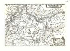 Antique map, Le Comte de Zutphen