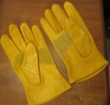 NWOT Work Gloves Wells Lamont Mule Cowhide Leather L Large
