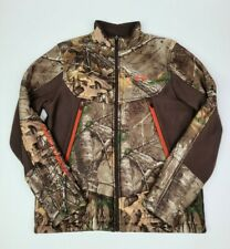 Mens Under Armour Storm Realtree Camo  zip up Jacket Size Medium