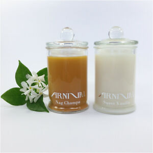 HIGHLY SCENTED 100% SOY WAX CANDLE 30 hour burn time NATURAL JAR CANDLES gift IT