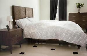 Doppelbett Bettgestell Modern in Factory Loft Design Holz Liegefl.180x200 Holz