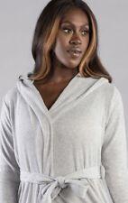 ** Boux Avenue Women's Lillie Ribbed Lounge Robe UK XS Grey