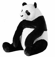 "IKEA Big Panda Bear 18"" Stuffed Animal Kid Soft Toy Black/white DJUNGELSKOG NEW"