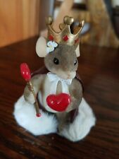 Charming Tails Queen of My Heart Valentine Day Figurine Nib (Retired) 84/114