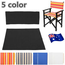 Directors Chair Replacement Canvas Cover Stool Protector Seat Covers Sheet AU