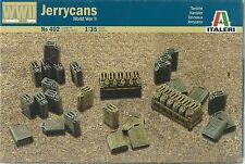 ITALERI 1:35 WORLD WAR II ACCESSORI JERRYCANS  TANICHE  ART 402