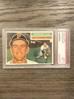 1956 Topps Vernon Law PSA 7 #252 Pittsburgh Pirates