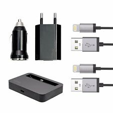 5 EN 1 Cargador Adaptador Dock Alimentación Coche iPhone 8 7 6 6s PLUS 5 5c