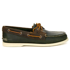 Sperry Top-Sider Men's Authentic Original Boat Shoe Olive/Riverboat STS21716 NEW