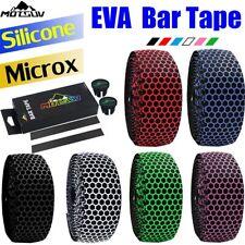 Silicone Bar Tape Road Bike / Drop Handlebar Tape Silica EVA White Wrap Bicycle