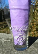 Coca-Cola 75th Anniversary Glass 1976 Elizabethtown, Kentucky