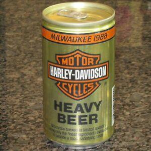 Harley Davidson Beer can, Milwaukee 1988