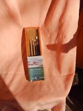 White synthetic  Brushes ( set of  4)  Jack Richenson