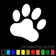 Paw Sticker Vinyl Decal - Dog Cat Pet Puppy Animal Paws Cute Car Window Truck