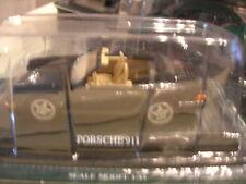 1/43 METAL PORSCHE 911 CABRIOLET NOIRE!!!!!!