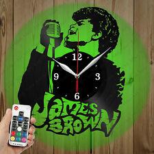 LED Vinyl Clock JAMES BROWN LED Wall Art Decor Clock Original Gift 3955