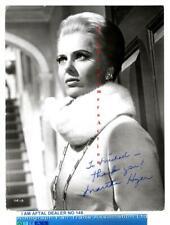 Martha Hyer vintage signed Photograph AFTAL #145