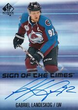 Gabriel Landeskog UD 2015-16 Sp Authentic Sign of the Times Auto
