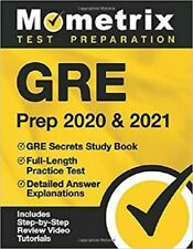 GRE Prep 2020 & 2021: GRE Secrets Study Book, Full-Length Practice Test