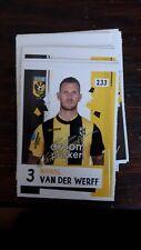 AH Voetbalplaatje 2018 2019 #233 Marcel Van Der Werff Vitesse