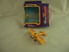 Matchbox Cadbury's Crunchie Flying Circus Die Cast Plane