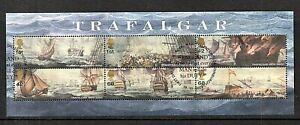 GB Stamps 2005 Battle of Trafalgar MS2580 - fine used
