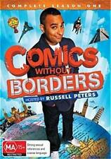 Russell Peters COMICS WITHOUT BORDER SEASON 1 : NEW DVD