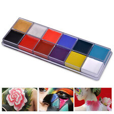 12in1 Flash Color Palette Paint Cosmetic Case Beauty Makeup for Cheeks Eyes Lips