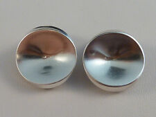 Design-Ohrclips - Georg Jensen / Nanna Ditzel - #136C - 925er Sterling Silber