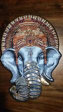 XXL-Patch Elefant mit Pailletten und Perlen indisch zum Aufnähen Aufnäher