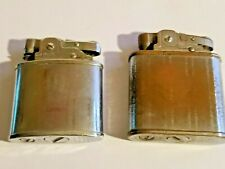 Lot of 2 Prince Lighters, 1 w/ Risible Wind Guard, Both in Working Condition