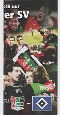 Orig.PRG    UEFA Cup  2008/09   NEC NIJMEGEN - HAMBURGER SV  !!  SELTEN