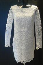 FRENCH CONNECTION Nebraska Summer White Dress Size 10 NEW