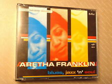 ARETHA FRANKLIN - BLUES, JAZZ 'N' SOUL -  3 CD 2006  NUOVO E SIGILLATO